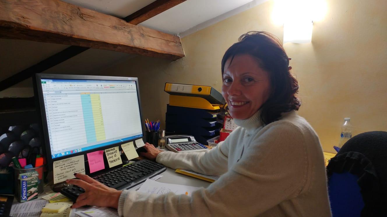 Francesca Ventura coordinatrice amministrativa